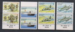 Falkland Islands 1983 1st Anniversary Liberation 4v (pair)  ** Mnh (38949D) - Falklandeilanden