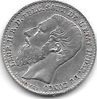 *Belgian Congo 50 Centimes 1894  Km 13 - 1885-1909: Leopold II