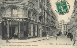 PARIS - Rue Villaret De Joyeuse, Pneu Goodrich. - Arrondissement: 17