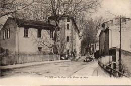 83 CUERS   Le Pont Et La Route De Nice - Cuers