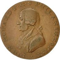Monnaie, Grande-Bretagne, Hampshire, Halfpenny Token, 1794, Portsmouth, TTB - Monnaies Régionales