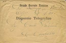 D TELEGRAFI - 10 Dispacci Telegrafici O Telegrammi Tutti Con Interno - Epoca 1856-1876 Circa - Insieme Non Comune - Buon - Stamps