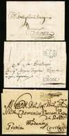 B Modena - 12 Lettere Da O Per Uffici Modenesi/Modena Con Bolli Vari - Epoca 1732-1851 - Buona Qualità - Foto - (56909F) - Stamps