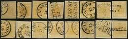 O 16 Es. C.5 Varie Tonalità Di Colore - Qualità Corrente - Tutti P.V. - Foto - (60708F) - Stamps