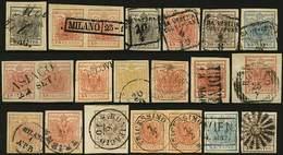 O/F 21 Es. Valori E Annulli Vari - Buona/ottima Qualità - P.V. - Foto - (59412F) - Stamps