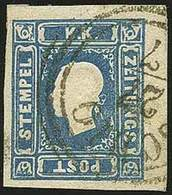 "O F.llo Per Giornali S.1,05 Azzurro N.7FG - Sassone N.8 - Ann. Parziale C3 ""Schio 27/7"" - Ottima Qualità - P.V. - Foto - - Stamps"