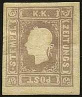 * F.llo Per Giornali S.1,05 Lilla Grigio N.8FG - Sassone N.9 - Qualità Corrente - A.D. - M.Raybaudi - Foto - (60714F) - Stamps