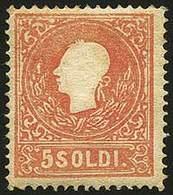 * S.5 II Tipo Rosso N.30 - Sassone N.30 - Buona Centr. - Qualità Corrente - Em.D. - Sorani - P.V. - Foto - (57772F) - Stamps