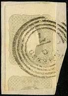 F F.llo Per Giornali S.1,05 Grigio Chiaro N.9FG - Sassone N.10 - Taglio Irregolare Che Fa Presumere Una Futura Frode Pos - Stamps