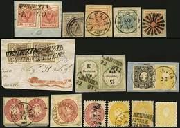 O/F/*SG 19 Es. Valori E Annulli Vari - Il S.2 Nuovo è Rigommato - Buona/ottima Qualità - P.V. - Foto - (59415F) - Stamps