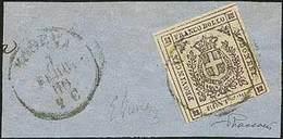 """F G.Provvisorio - C.20 Lilla Scuro Con Errore """"C E E Invertite"""" N.32E - Sassone 2017 N.16c = Euro 6.000,00 - Ann. P.c. """" - Stamps"""