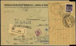 """B Trieste AMG-VG - La Corrispondenza Spedita Dalla Zona """"A"""" (amministrata Dall'AMG-VG) E Diretta Nel Territorio Italiano - Stamps"""
