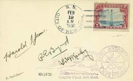 B USA/Antartico - 1929/1930 - Prima Spedizione Antartica E Primo Volo Al Polo Sud - Comandante Richard E.Byrd - Uno Dei  - Stamps