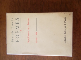 POEMES N°8 Par BERTOLT BRECHT - Poetry