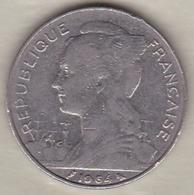 ILE DE LA REUNION. 100 FRANCS 1964 - Reunión