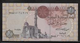 Egypte - 1 Pound - Pick N°50 F  - NEUF - Egypte