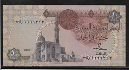 Egypte - 1 Pound - Pick N°50 D  - NEUF - Egypte