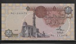 Egypte - 1 Pound - Pick N°50 D  - SPL - Egypte