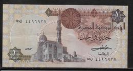 Egypte - 1 Pound - Pick N°50 B  - SUP - Egypte