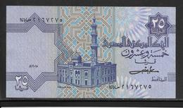Egypte - 25 Piastres - Pick N°54 - SPL - Egypte