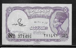 Egypte - 5 Piastres - Pick N°182j - NEUF - Egypte