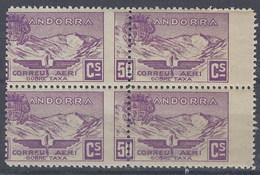 Andorra NE 14 ** Franquicia Del Consell. 1932 Muy Desplazado - Ongebruikt
