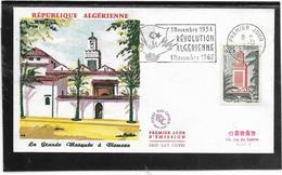 Algérie -  Enveloppe Premier Jour - Monuments - Architecture - Argelia (1962-...)