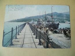 Yalta. Le Môle. Cachet De La Poste De 1912. Ukraine Russie - Oekraïne