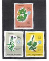 OST1410 ALBANIEN 1987  MICHL 2334/36 Postfrisch SIEHE ABBILDUNG - Albanien