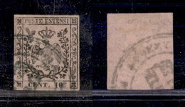 0011 ANTICHI STATI - MODENA - Governo Provvisorio - 10 Cent (2) - Annullo Amministrativo Di Reggio - Stamps