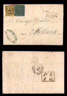 0012 ANTICHI STATI - MODENA - Governo Provvisorio (10.9.59) - 15 Cent (3) + 5 Cent (8) Su Lettera Da Reggio A Milano - P - Stamps