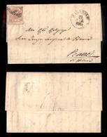 0020 ANTICHI STATI - NAPOLI - Agnone/Annullato (P.ti 12) Su 2 Grana (5) - Lettera Per Penne Del 23.3.61 - Diena - Stamps