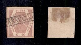 0022 ANTICHI STATI - NAPOLI - 1858 - 10 Grana Rosa Lilla (10a) - Bello (600) - Stamps