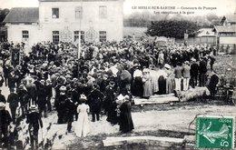 LE MESLE Sur SARTHE - CONCOURS De POMPES - LES RECEPTIONS à La GARE - - France
