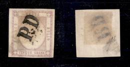 0025 ANTICHI STATI - NAPOLI - PD (P.ti 12) - 5 Grana (21c) - Ben Marginato - Stamps
