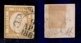0026 ANTICHI STATI - NAPOLI - 1861 - 10 Grana (22a) - Diena (1.250) - Stamps