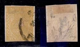 0035 ANTICHI STATI - PARMA - 1853 - 5 Cent (6) - Ottimi Margini - Diena + Oliva (1.400) - Stamps