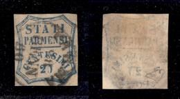 0044 ANTICHI STATI - PARMA - 1859 - 20 Cent (15b) - Parma 28.1.60 - Diena (700) - Stamps