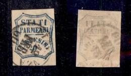 0045 ANTICHI STATI - PARMA - 1859 - Zero Grasso - 20 Cent (15b+d) - Diena (800+) - Stamps