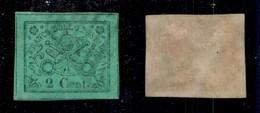 0054 ANTICHI STATI - PONTIFICIO - 1867 - 2 Cent (13) - Filetti Completi (600+) - Stamps