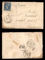 0059 ANTICHI STATI - PONTIFICIO - Posta Militare - 20 Cent (22-Francia) Su Bustina Da Roma Del 26.3.68 - Stamps