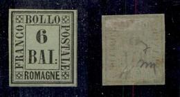 0063 ANTICHI STATI - ROMAGNE - 1859 - 6 Bai (7) - Diena (850) - Stamps