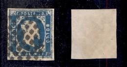 0064 ANTICHI STATI - SARDEGNA - 1851 - 20 Cent (2) - Ben Marginato (550) - Stamps