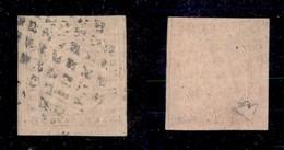0065 ANTICHI STATI - SARDEGNA - 1853 - Doppia Stampa A Secco - 40 Cent (6b) - Diena + Cert. AG (5.000) - Stamps
