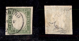 0071 ANTICHI STATI - SARDEGNA - 1861 - 5 Cent (13C) - Ottimi Margini - Raybaudi (750) - Stamps