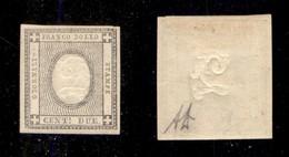 0091 ANTICHI STATI - SARDEGNA - 1861 - 2 Cent (20) - Ottimi Margini - Diena (400) - Stamps