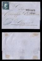 0098 ANTICHI STATI - SICILIA - 2 Grana (6a) - Lettera Da Messina Del 6.6.59 - Ottimi Margini - Molto Bella - Oliva + Ray - Stamps