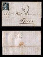 0099 ANTICHI STATI - SICILIA - 2 Grana (7b) - Lettera Da Palermo Del 7.5.59 - Grandi Margini - Diena (1.800) - Stamps