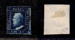 0102 ANTICHI STATI - SICILIA - 1859 - 10 Grana (12) - Ottimi Margini - Diena (900) - Stamps
