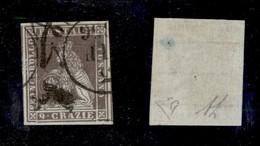 0107 ANTICHI STATI - TOSCANA - 1851 - 9 Crazie (8) - Grandi Margini - Diena (450) - Stamps